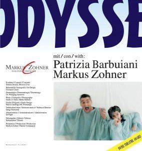ODISSEA, Patrizia Barbuiani, Markus Zohner, Markus Zohner Arts Company