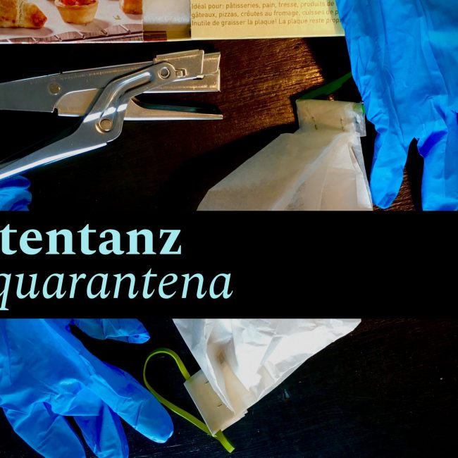 TOTENTANZ - la quarantena Markus Zohner Arts Company